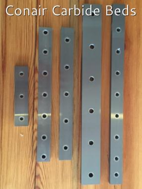 Newder Lot de 5 extracteurs de vis endommag/és en acier rapide 4341 Duret/é 62-63hrc